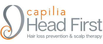 capilia head first logo